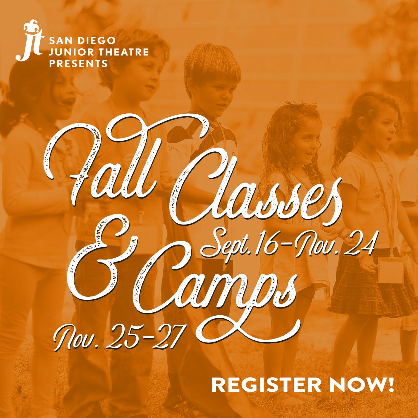 Fall Classes & Camps